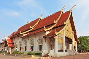 Buddhist temple in northern Thailand