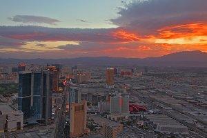 skyscrapers in Las Vegas