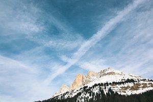 Italian Alps in Winter