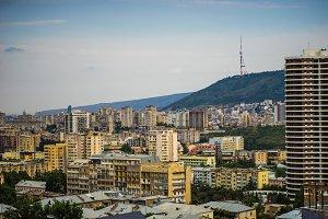 Tbilisi's city centre