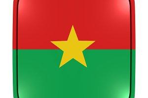 Burkina Faso icon flag