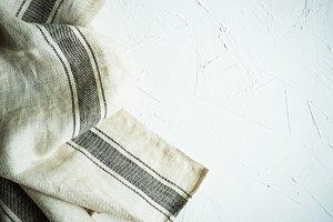 Rustic kitchen towel
