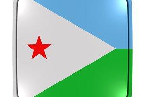 Djibouti icon flag