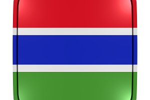 Gambia icon flag