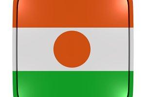 Niger icon flag