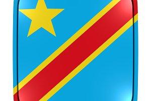 Dem. Republic of Congo icon flag