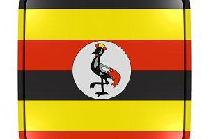 Uganda icon flag