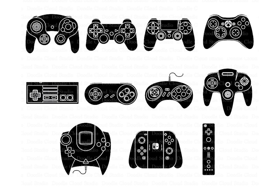 Game Controller Svg Files
