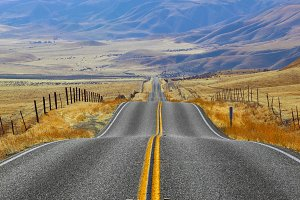 Magnificent American road