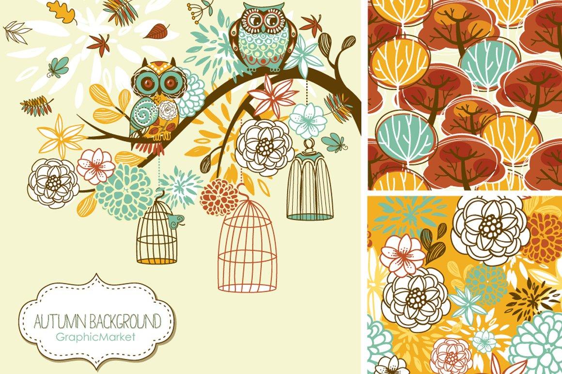 Fall Clip Art, autumn, thanksgiving ~ Illustrations ...