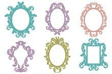 Baroque Frames Photoshop Brushes