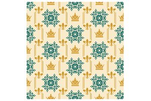 Royal pattern background