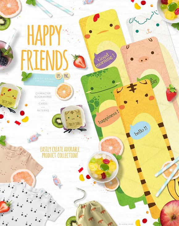 30%OFF Happy Friends Cute Animal