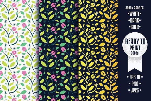 Floral Pattern 3 Version