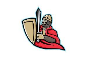 Medieval King Regnant Mascot