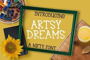 Artsy Dreams - Font