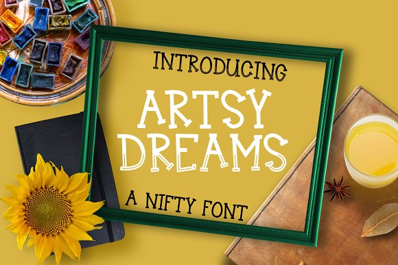 Artsy Dreams Font