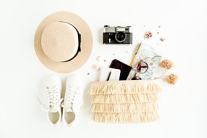 Woman fashion travel
