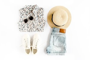 Woman summer clothes