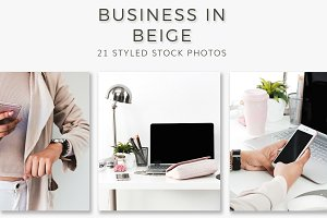 Business in Beige (21 Stock Photos)