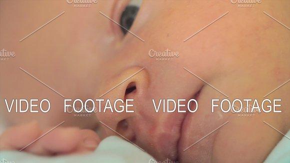 Face Of Newborn Baby