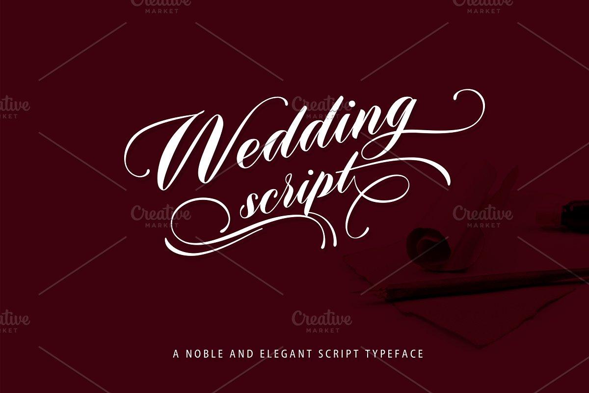 Wedding Scripts Fonts.Wedding Script Script Fonts Creative Market