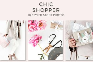 Chic Shopper (18 Stock Photos)