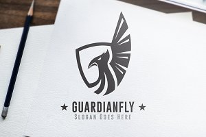 Guardian Fly - Logo