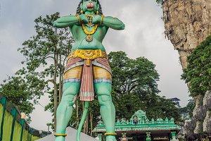 Lord Hanuman statue, at Batu Caves Kuala Lumpur, Malaysia