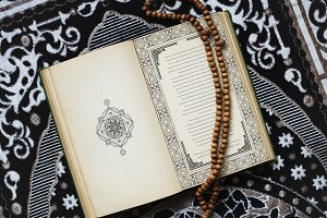 The Quran central religious text