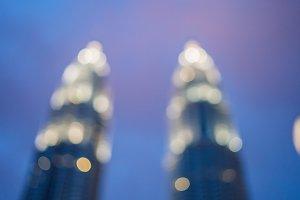 Cityscape bokeh, Blurred Photo, cityscape