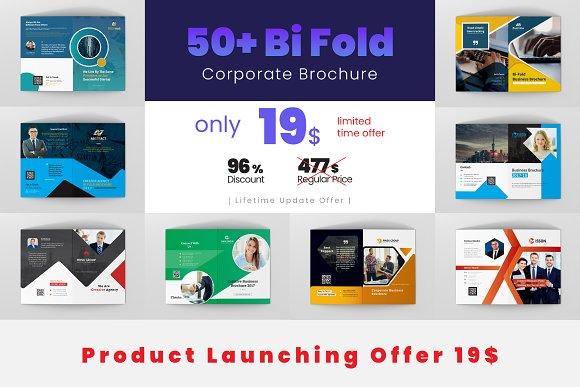 50 Bi Fold Brochure Design