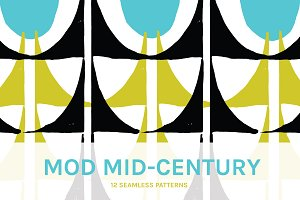 Mod Mid Century | Seamless Patterns