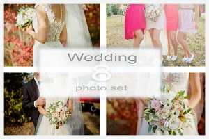 Wedding Photo set