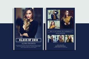 Graduation Announcement - V809
