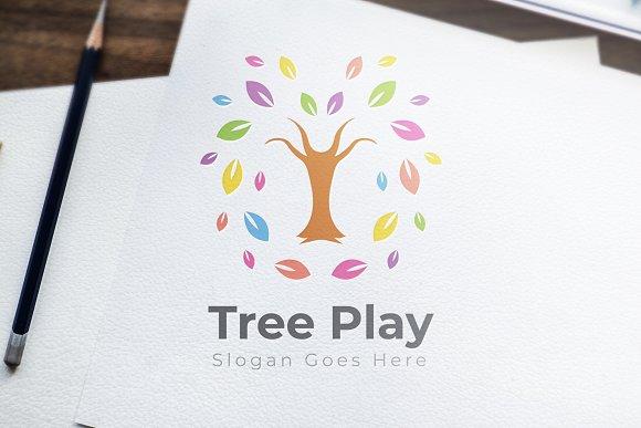 Tree Play Logo