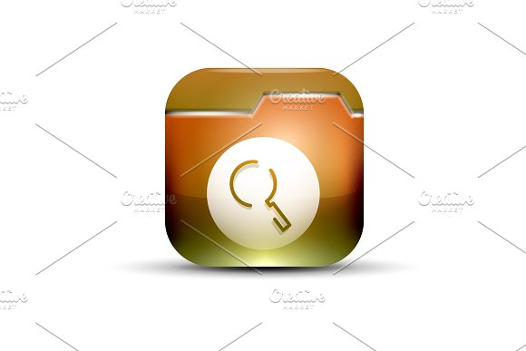 Search Magnifyier Web Button Magnify Icon Modern Magnifying Glass Sign Web Site Design Or Mobile App