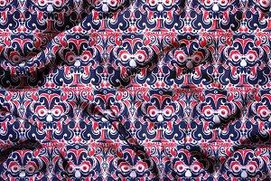Devil Tribal Seamless Pattern