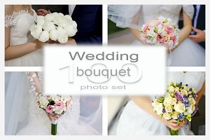 Wedding bouquet photo collection 100