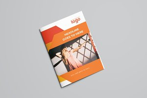 Orange Bifold Brochure