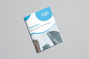 Blue Corporate Business Brochure