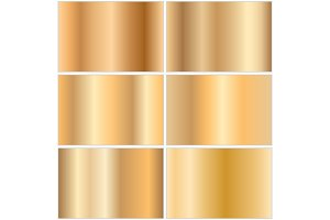 Collection of golden gradients