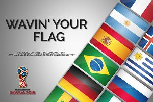 Wavin' Your Flag PS action