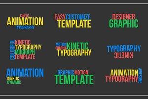 Kinetic Typography v1 (.mogrt)