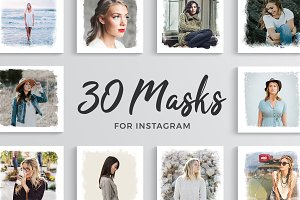 30 Masks for Instagram