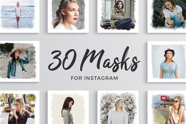 30 Masks for Instagram