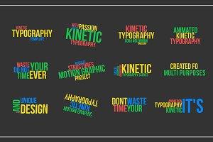 Kinetic Typography v2 (.mogrt)