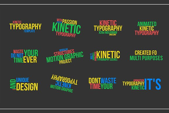 Kinetic Typography V2