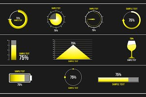 10 Percentage Infographic (.mogrt)