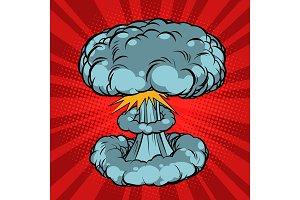 Nuclear explosion, war